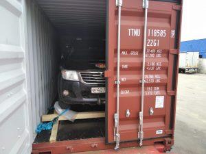 Перевозка автомобиля в Кению