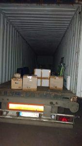 Перевозка вещей в Нигерию