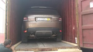 Перевозка автомобиля в ОАЭ