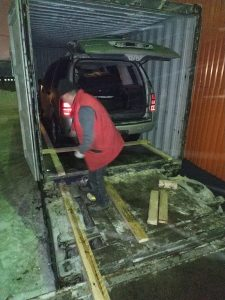 Перевозка автомобиля в Уругвай
