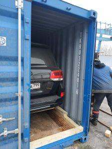 Перевозка автомобиля в Монголию