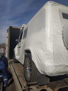 Перевозка автомобиля в Кувейт